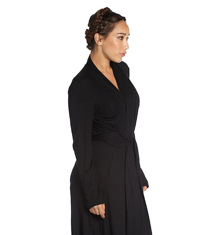 Matchplay Robe in Black by Between the Sheets (FS)