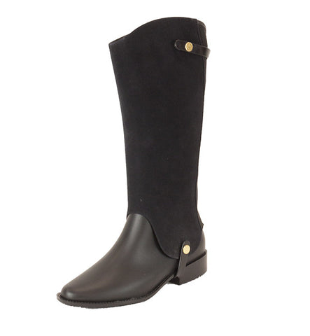 Riding Tall Boot in Black by Melissa