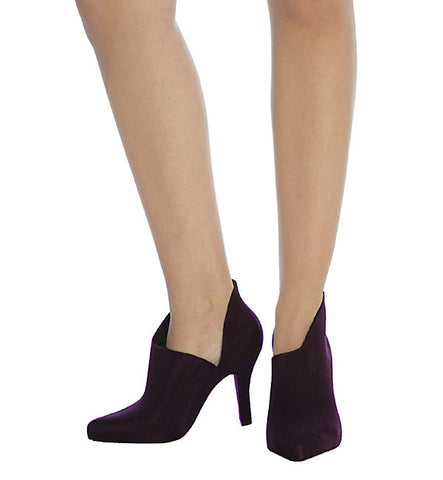 Drama Bootie in Burgundy by Melissa (FS)