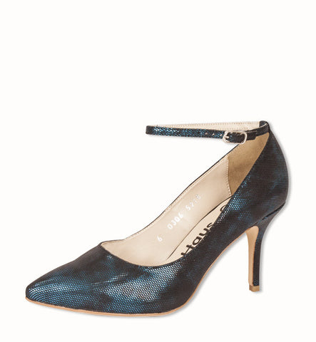 Ninja Heel in Blue by Olsenhaus