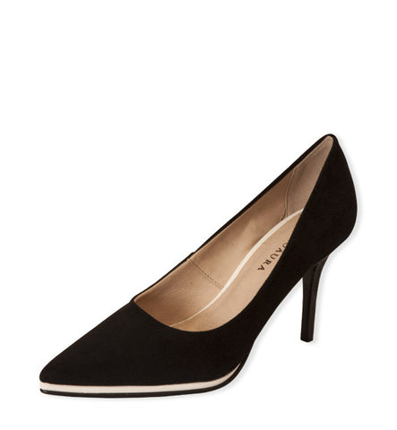 Once-Worn Nira High Heel Pump in Black by Neuaura, Size 7 (FS)