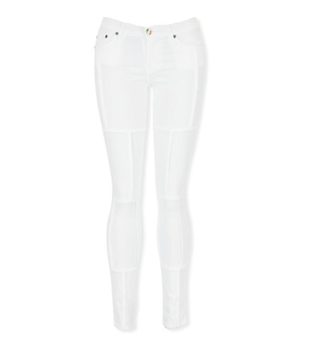 Nopa Skinnies in White by Sonas