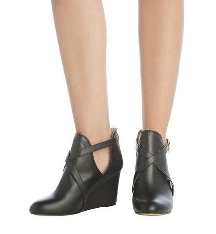 Olivia Bootie in Black by Coral 8 (FS)