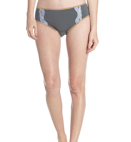 Organic Basics Hipster Panty in Blue by Brook There (FS)