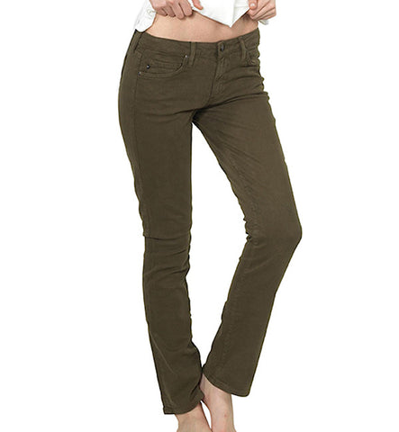 Paloma Urban Suede Skinnies in Beech by Agave Denim (FS)