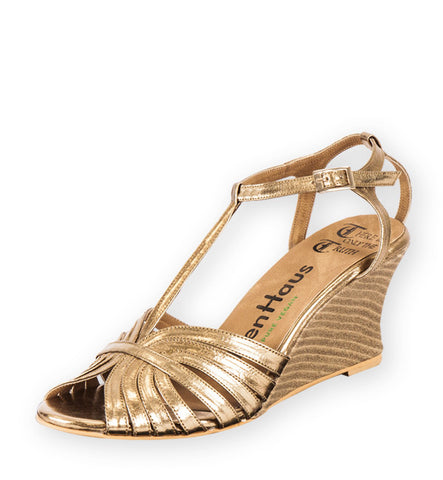 Pegasus Wedge in Gold by Olsenhaus