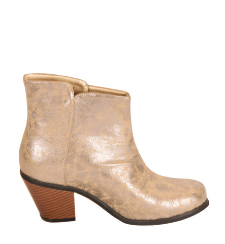 Raiku Boot in Silver by Cri de Coeur