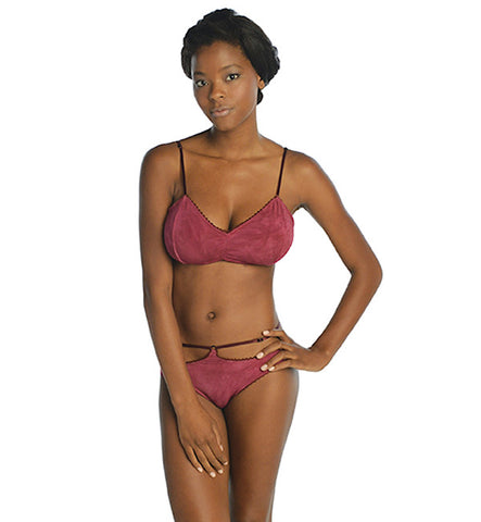 Scarletta Cut-Out Panty in Ruby by Clare Bare (FS)