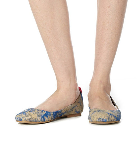 Shanti Flat in Blue by Olsenhaus