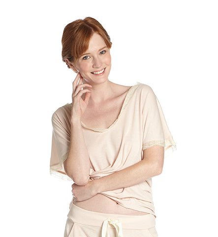 Venus in Play Tee in Peony by Between the Sheets (FS)