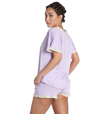 Venus in Play Short in Lilac by Between the Sheets (FS)