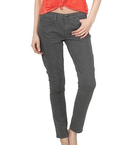 Paloma Urban Suede Skinnies in Dark Shadow by Agave Denim (FS)