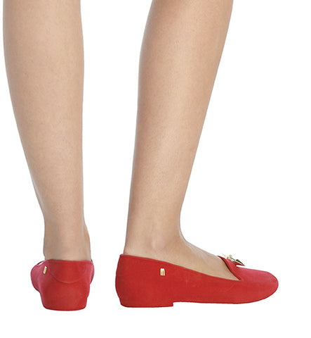 Virtue Flat in Red by Melissa