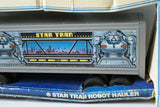 Vintage 1970's ERTL Pressed Steel 3431 Star Tran Robot Semi Hauler Truck in Box - Continental Hobby House