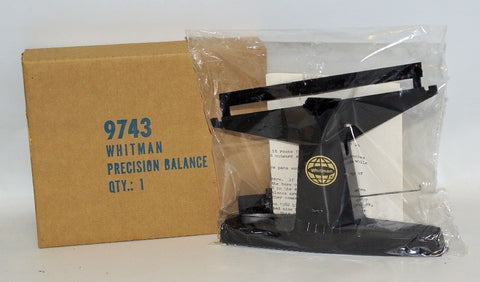 Vintage WHITMAN Coin Beam Balance Scale No. 9741, Sealed in Box, Old Store Stock
