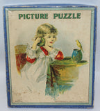 Vintage 1900's Victorian Edwardian Era Milton Bradley PICTURE PUZZLE #4510 - Continental Hobby House