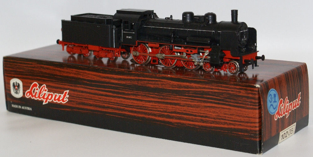 Vintage LILIPUT Train HO Scale 102 05 LOCOMOTIVE 4-6-0 Engine & Tender 38 3832 - Continental Hobby House