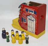Vintage Turn of the Century LOTTO Game in Wooden Case, made in Germany - Continental Hobby House