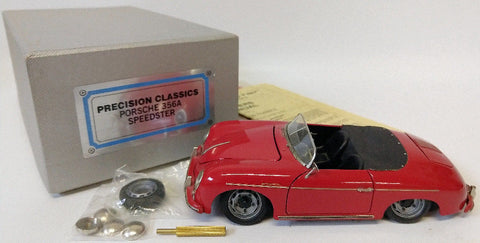 RARE 1993 Precision Classics PORSCHE 356A Speedster All-Brass 1:24 Model Car