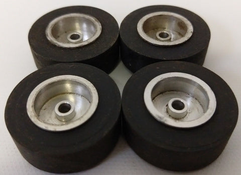 Lot 4x HERKIMER toy Tire Slicks OK CUB CART GO KART HOT ROD Tether Car 1-1/4""