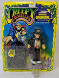 1994 Toymax CREEPY CRAWLERS 'Professor Guggengrime' & Accessory Mold, SEALED! - Continental Hobby House