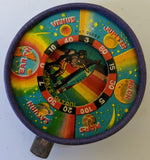 Vintage Prewar Japan SPACE PATROL Planetary Outer Space Cardboard Spinner Game! - Continental Hobby House