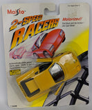 Vintage 1992 MAISTO '2-Speed Racer' Diecast Motorized FERRARI TESTAROSSA Toy Car - Continental Hobby House