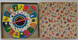 Vintage 1945 SPIN-A-WORD 2-Sided Playwheel Educational Game, Rabbin Schenkel - Continental Hobby House