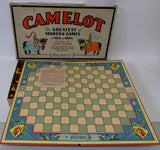 Vintage 1930 CAMELOT Board Game by Parker Brothers, Greatest of Modern Games! - Continental Hobby House