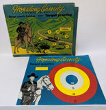 1950 HOPALONG CASSIDY Target Practice & Stage Coach Holdup Magnetic Dart Game - Continental Hobby House
