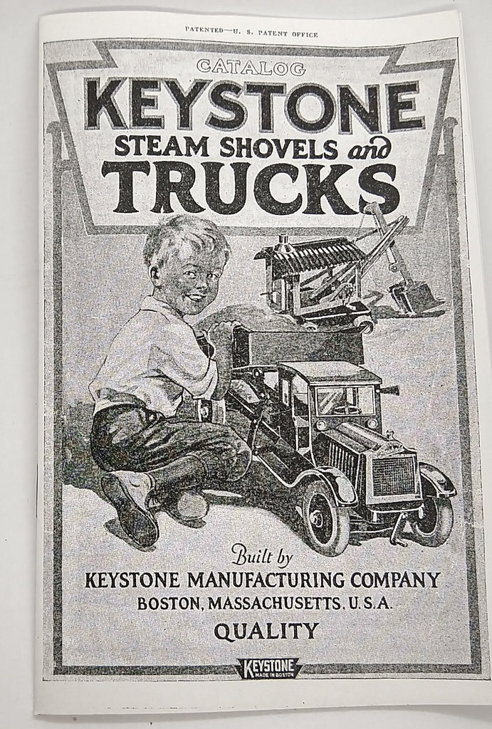 Keystone toy reproduction catalog with great reference material. - Continental Hobby House