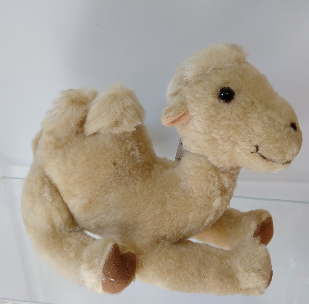 "Vintage Sonni (Germany) Plush Stuffed 10"" Camel (Kamel) Collectors Quality, New! - Continental Hobby House"