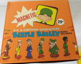 "1974 Beetle Bailey Magnetic Memo Holder Display box. 9x9"" - Continental Hobby House"