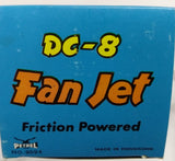 "Pan Am 1970's Vintage Friction Airplane. 10"" wingspan. In original box. - Continental Hobby House"