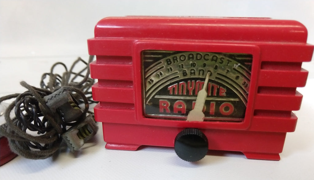 Pakette Radio Tiny Mite Radio 1948 Mini radio - Continental Hobby House