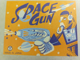 Vintage YONEZAWA Japan Tin Litho Friction Sparkling SPACE RAY GUN, MINT, UNUSED! - Continental Hobby House