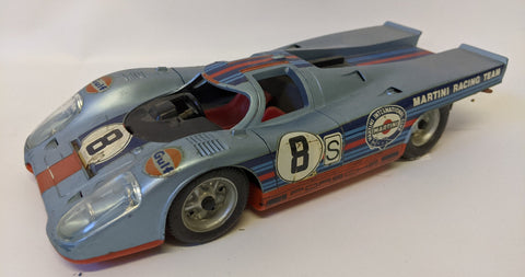 Vintage SCHUCO Electro 356 213 Battery Operated PORSCHE 917 Martini Race Car