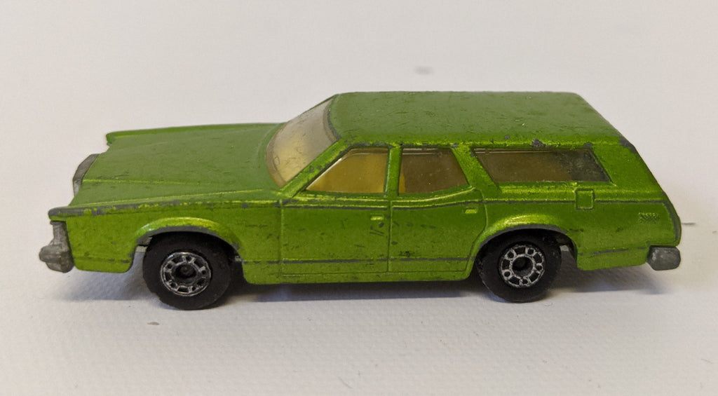 Vintage 1978 MATCHBOX SuperFast Diecast #74 COUGAR VILLAGER Station Wagon Toy