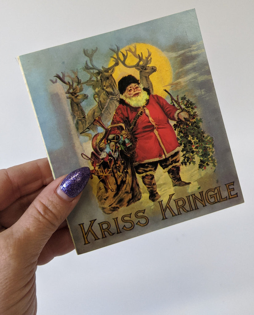 Replica of the Christmas Classic 'KRISS KRINGLE' Santa Claus Children's Book