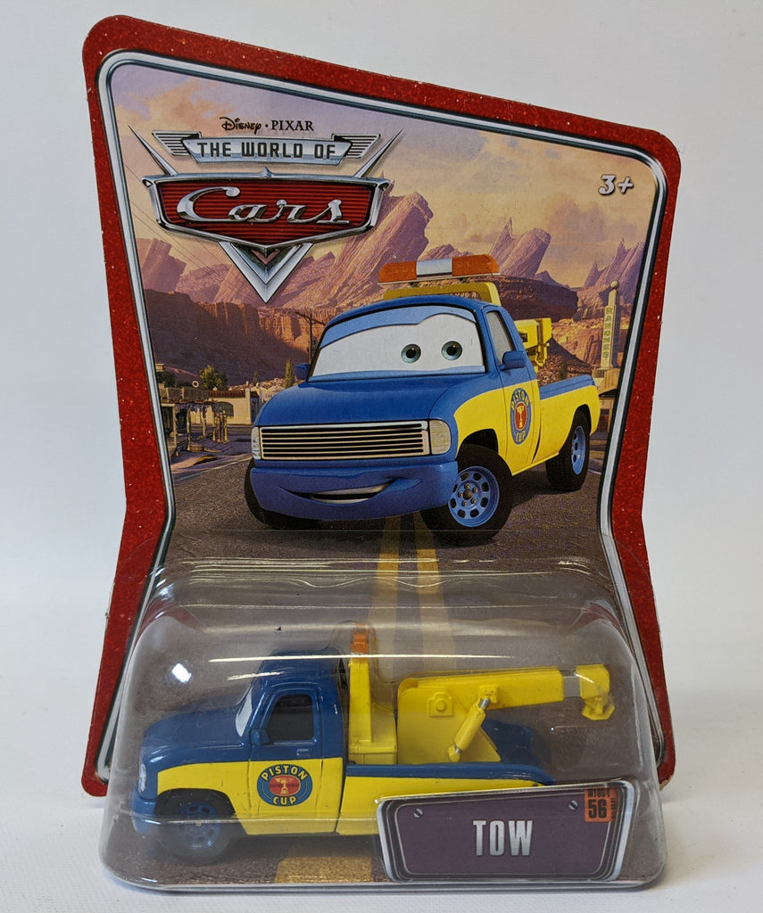 Disney Pixar THE WORLD OF CARS #56 'TOW'  Diecast Toy Car Truck, SEALED!