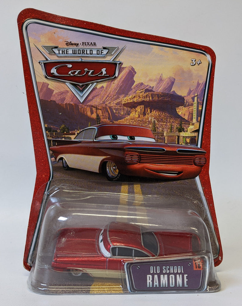 Disney Pixar THE WORLD OF CARS #18 'OLD SCHOOL RAMONE' Diecast Toy Car, SEALED!