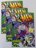 3 Vintage 1993 X-MEN #1 'Betrayed' TOYS R US Limited Edition MARVEL Comic Books