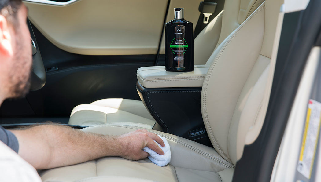How to Care for Leather Car Seats – TriNova