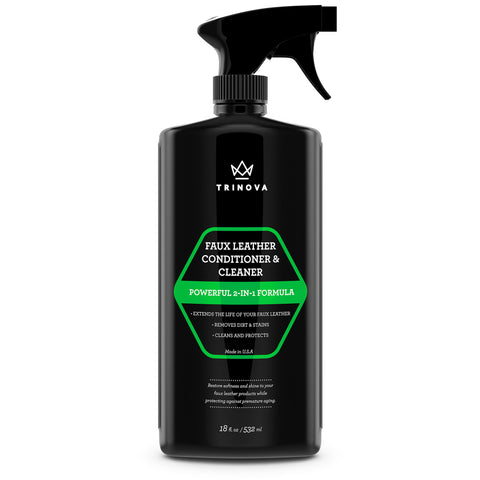 Faux Leather Cleaner & Conditioner