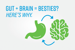 Gut + Brain = Besties? Here's Why.