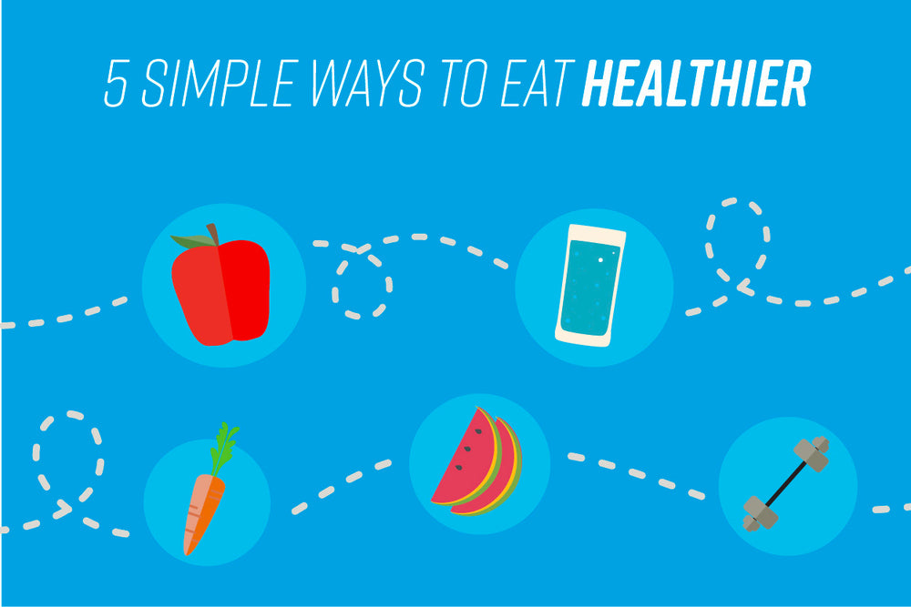 5 Simple Ways to Eat Healthier | Zenwise Health