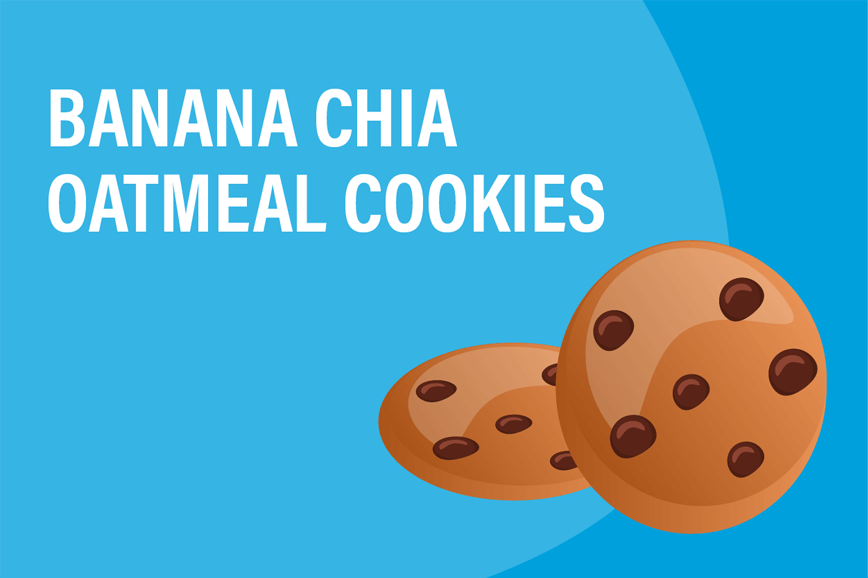 Banana Chia Oatmeal Cookie Recipe | Zenwise