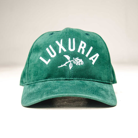 Lux Rose Corduroy dad cap - Green