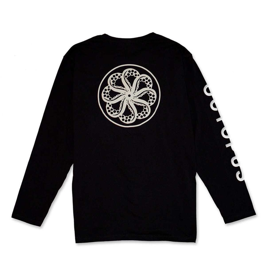 Octopus Mega Normal Logo Long Sleeve Tee