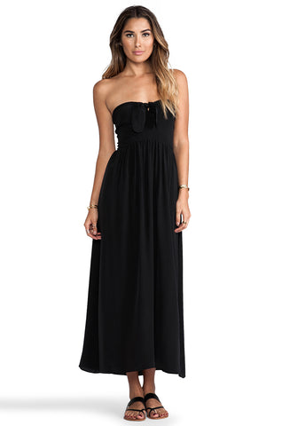 ZINKE Women's Black Convertible Cover up Dress $215 NEW